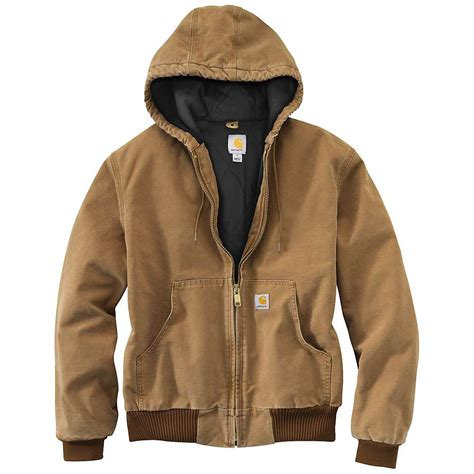 Carhartt Quilted Flannel Lined Duck Active Jacket by Carhartt S Quilted Flannel Lined Duck Active Jacket