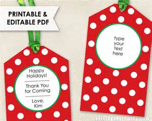 thank you gift tags template printable tags editable tags pdf