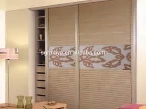 modern bedroom sliding door wardrobe design indian bedroom