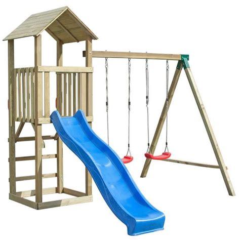 Fabricant De Balancoire by Balan 231 Oire Portique H2 65m Enfant Aire De Jeux En Bois