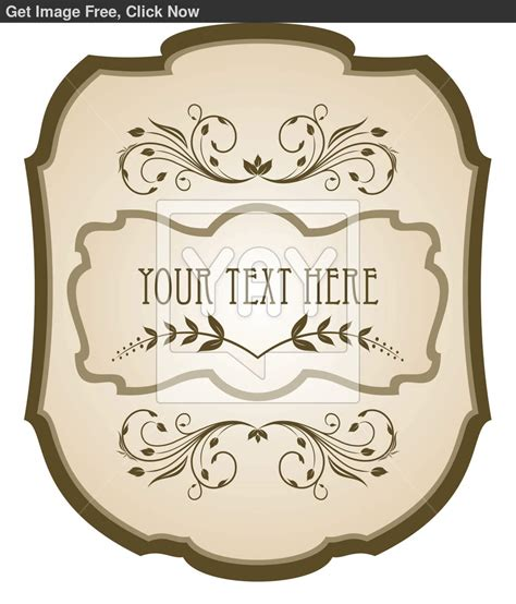 antique labels template free label templates search results new