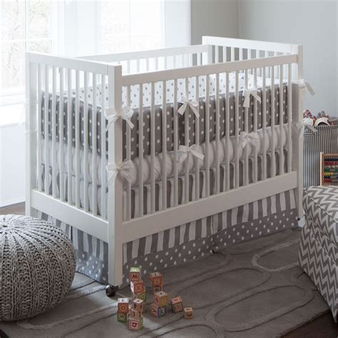 Crib Bedding Gender Neutral 17 Best Images About Gender Neutral Crib Bedding On Pinterest Taupe Pom Pon And Gray