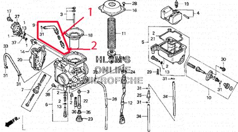 honda foreman carburetor diagram honda foreman 450 carburetor diagram 2017 2018 best