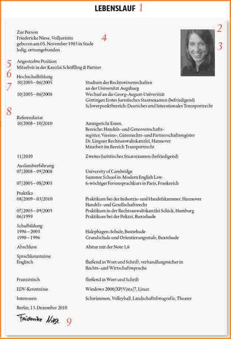Lebenslauf Beispiel Fur Universitat 4 Lebenslauf F 252 R Uni Reimbursement Format