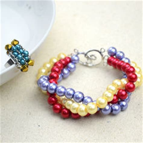 and easy multi strand pearl bracelet 183 how to make a