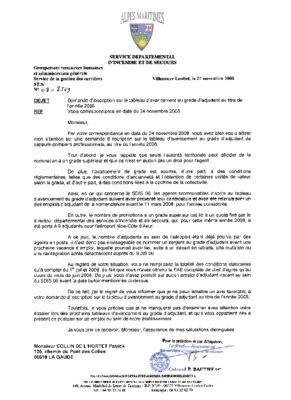 Modele Lettre Demande D Avancement De Grade Fonction Publique Territoriale