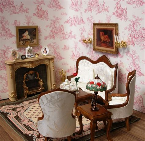 dollhouse living room furniture amanda s decorated victorian parlor living room dollhouse