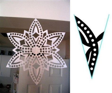 How To Make Small Snowflakes From Paper - 1000 images about snowflakes paper patterns tutorials