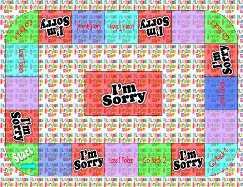 printable sorry board game cards pics for gt sorry game cards printable