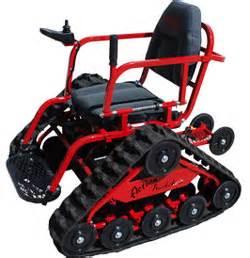 all terrain trackchair wheelchair new products