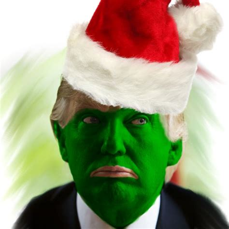 donald trump grinch merry christmas and happy holidays from modern servant leader