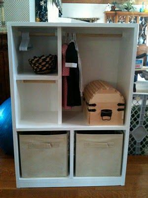 american doll armoire can put doll and hang clothes
