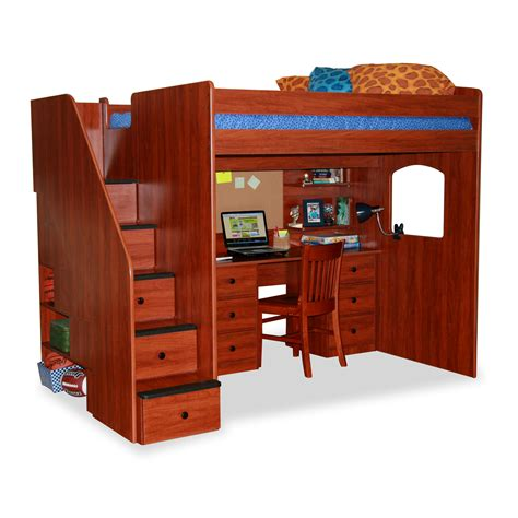 Berg Bunk Bed Berg Utica Loft Bed With Storage Reviews Wayfair