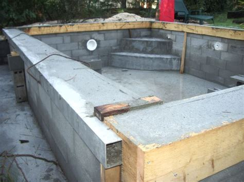 Comment Fabriquer Une Piscine 3038 by La Construction De Piscine 224 Debordement Guide De