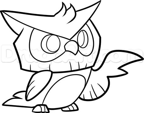 To Draw Coloring Pages How To Draw An Animal Jam Owl Step By Step Video Game by To Draw Coloring Pages