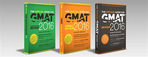 Mba Gmat Official Edition by The Official Gmat Guide 2016 Book Reviews