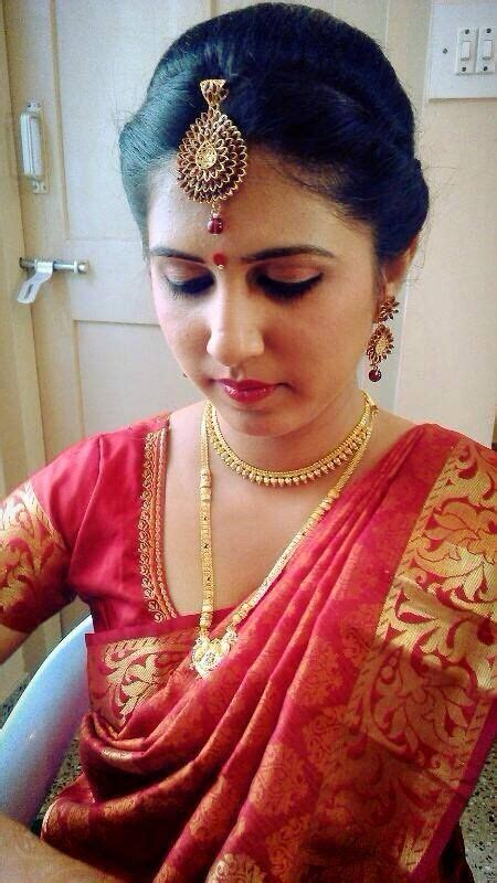 hairstyles for south indian reception indian bride s reception hairstyle created by swank studio