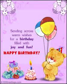 birthday wish card happy birthday free ecards greeting cards 123