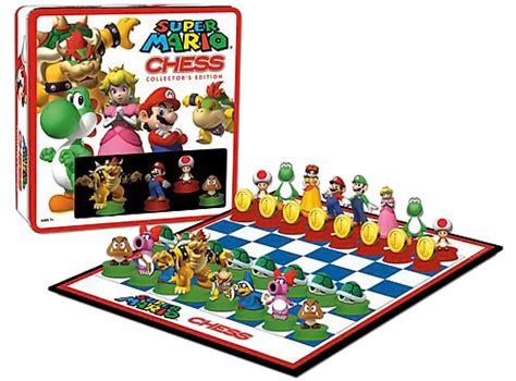 1 Set Bross mario chess collector s edition