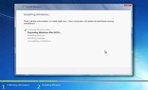 tutorial instal windows 7 dengan sempurna tutorial cara install windows 7 dengan sempurna aura