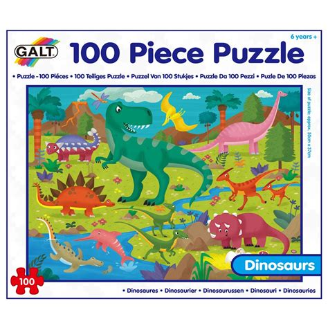 Learning Puzzle 100 puzzle dinosaur puzzles learning puzzles