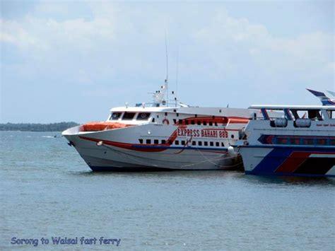 ferry waisai sorong stay raja at
