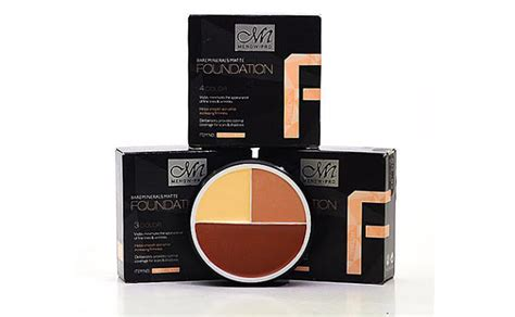 Menow Foundation 4in1 Concealer Mn Foundation 1 mn menow pro 3 or 4 colour foundation shading