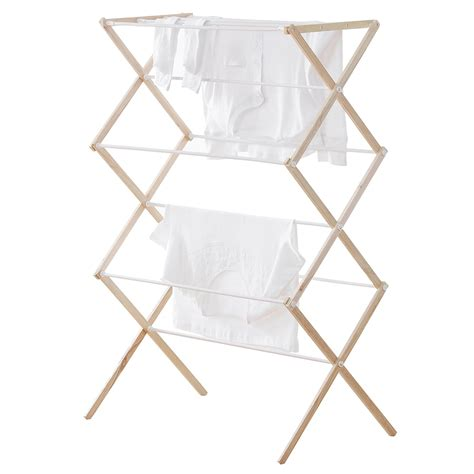 Fold Drying Rack by Neatfreak Folding Drying Rack Wood Save 35