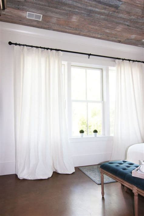 white window drapes 1000 ideas about white linen curtains on pinterest