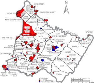 westmoreland county pennsylvania wikipedia