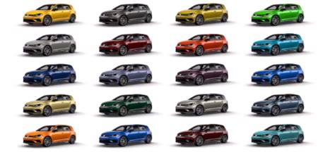 vw golf  spektrum program colors video dpccars