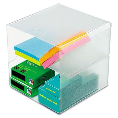 Stackable Desk Organizer Deflect O Stackable Cube Desktop Organizer Office Supplies Desk Accessories Organizers