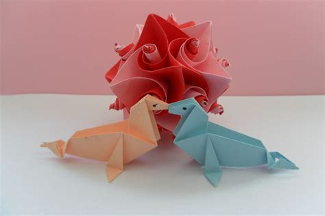 Origami Valentines Day - origami s day by fleecyblue on deviantart