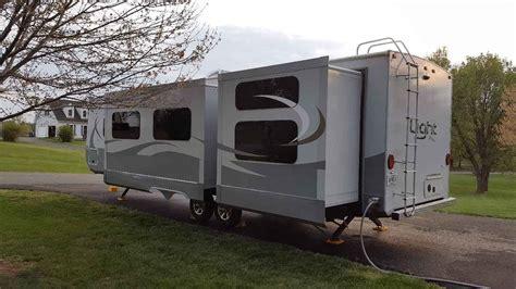 open range light travel trailer 2015 used open range light 308bhs travel trailer in