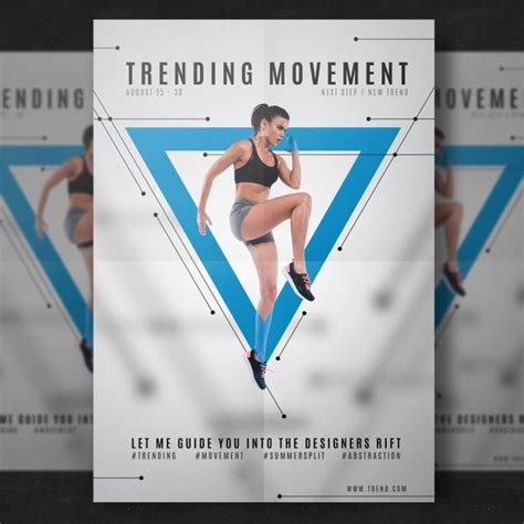 fitness flyer fitness flyer template psd file free