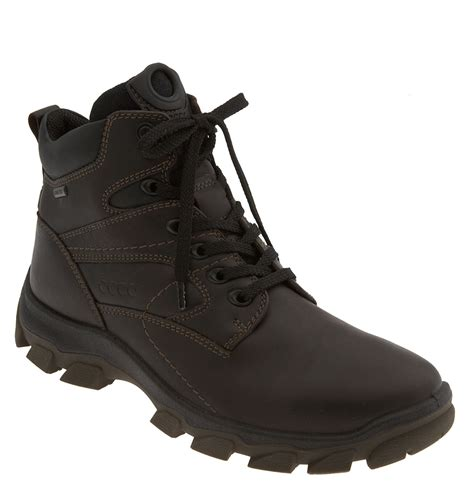 ecco boots for ecco track 5 waterproof boot in brown for coffee