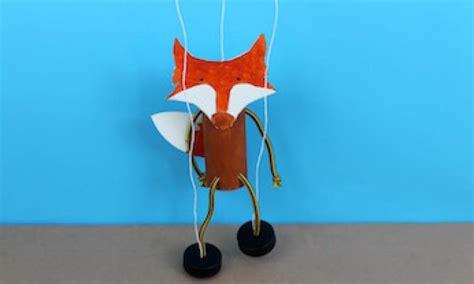 How To Make A Paper Fox Puppet - how to make a fox puppet kidspot