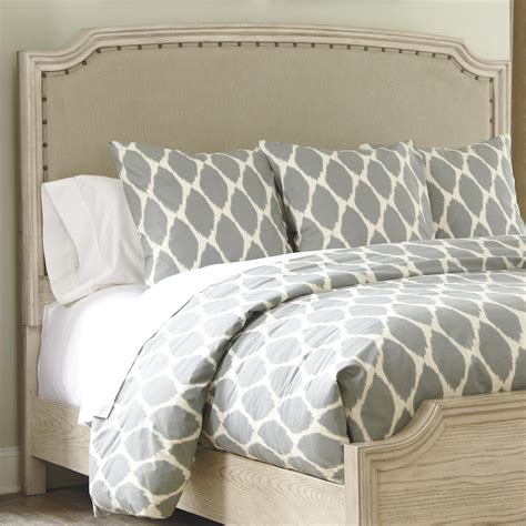 ashley furniture upholstered headboard signature design by ashley demarlos queen upholstered