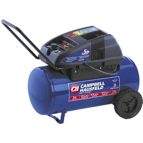 cbell hausfeld 13 gal 1 7hp wheeled horizontal air compressor