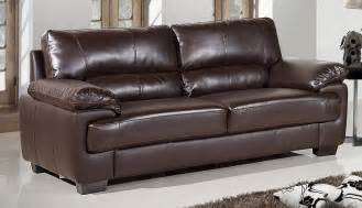 Dark Brown Leather Loveseat Brown Leather Sofas A Classic Color For A Great Piece Of
