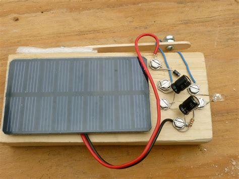 diy capacitor flashlight solar powered flashlight with no battery