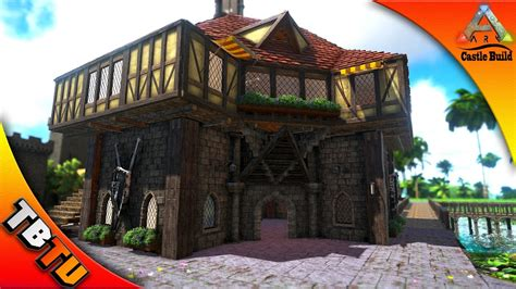 ark forge on boat ark castle build blacksmith shop ark survival evolved