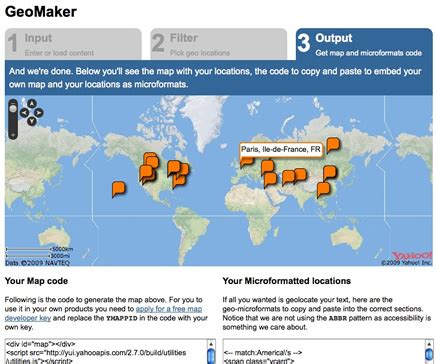 The Place Project Yahoo Answers Yahoo S Placemaker Yields The Geomaker Project Programmableweb