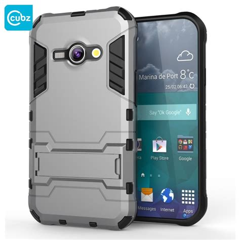 Foto Hp Samsung J1 Ace husa samsung galaxy j1 ace cubz hybrid light grey cu