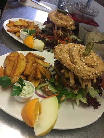 cafe bitta burger picture of cafe bita nakskov tripadvisor