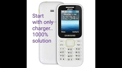 Samsung B 310 by Samsung B310 Only Power On With Charger 1000 Soultion