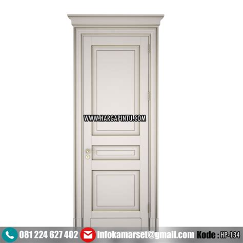 Hp Pintu pintu kamar terbaru model panil klasik hp 134 harga pintu