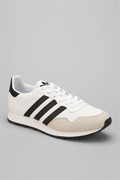 outfitters adidas ocis running sneaker in black for white lyst