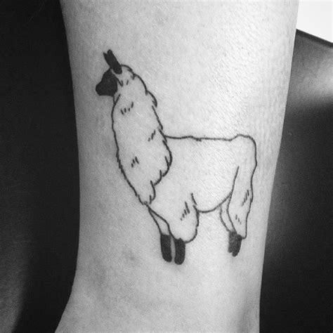 llama tattoo designs 250 best stick n poke inspiration images on