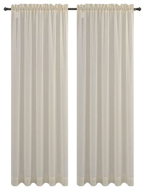 sahara curtains urbanest sahara set of 2 linen sheer curtain drapery